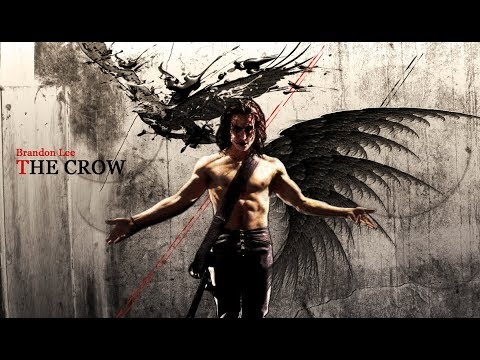 Brandon Lee ~ The Crow (Music by The Cure)
