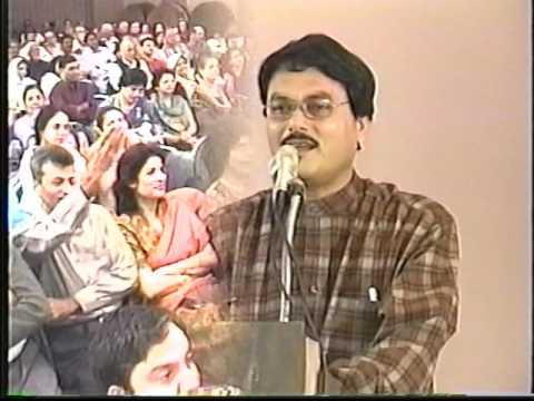Manzar Bhopali [ International Mushaira 2001Houston](1)