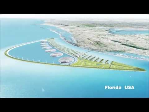 Green Power Island: A blue battery for green energy