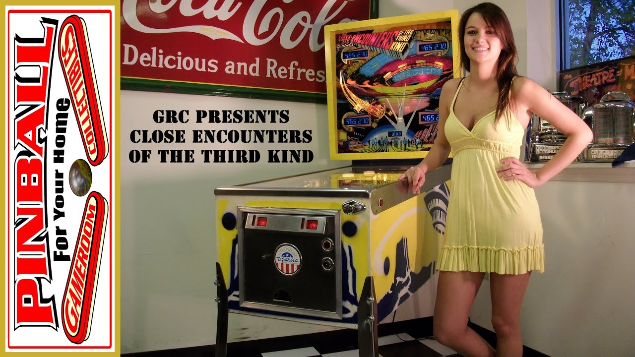 encounters of the third pinball machine