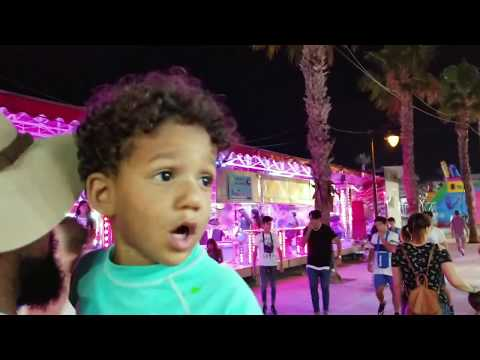 Spanish Nights; South of Spain at Night and a Trip to Cartagena | Full Time Travel Family of 6