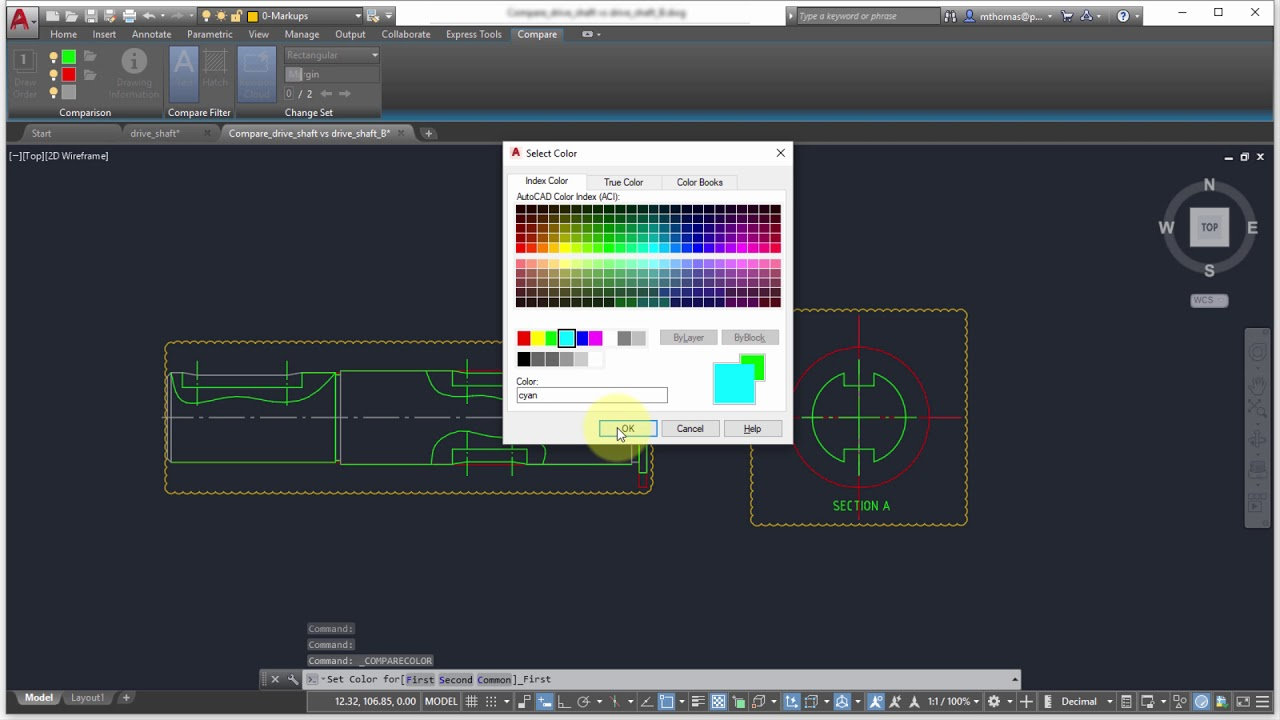 autocad 2019 dwg compare youtubeautocad 2019 dwg compare