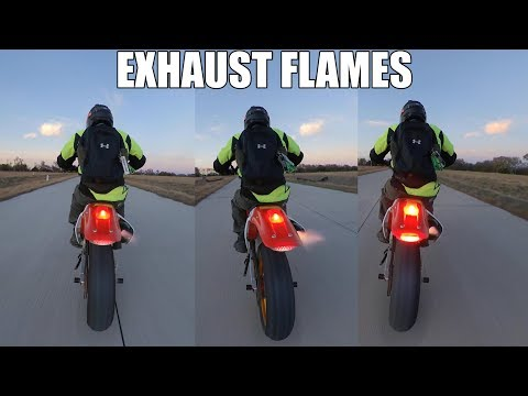 My Supermoto MAKES FIRE
