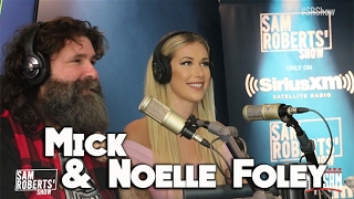 Mick & Noelle Foley - Holy Foley Sam Roberts FULL Interview