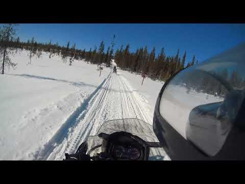 Ski Doo 600 Ace   Left Control   Finland Lapland   Sjcam 8 Pro