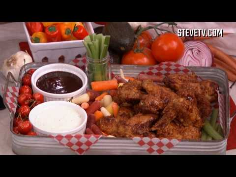 Your Friends Will Love These Bourbon BBQ Chicken Wings