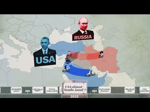 syrian war explained in 5 minutes youtube