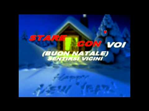 Buon Natale Karaoke.Buon Natale Video Karaoke By Pino Iudicelli