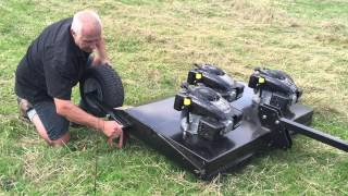 "Jemco ""Smokey Goat"" ATV Topper Mower"