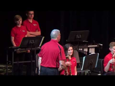 Canfield Village Middle School 7th Grade Band Spring Concert 5.9.18
