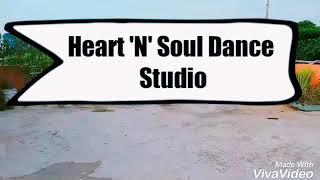 Chhote Chhote Peg | On Spot Easy Freestyle Dance Choreography | Heart 'N' Soul Dance Studio