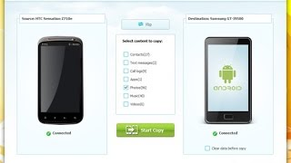 Wondershare Mobile Trans. One click Phone to Phone transfer
