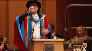 Dr Phil Differ, Honorary Degree of Doctor of Letters