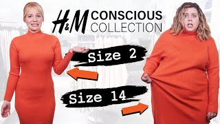 Size 2 & Size 14 Try On The Same Outfits From H&M's Sustainable Line
