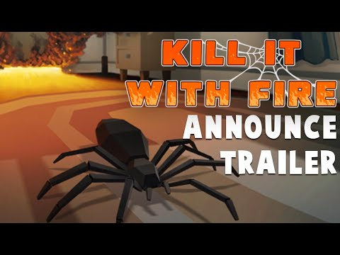 KILL IT WITH FIRE - Official Announcement Trailer [Free Demo Live]
