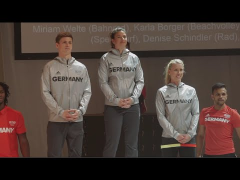 Sportlich schick nach Rio! Das neue Olympia-Outfit der deutschen Mannschaft