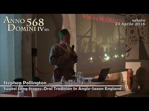 Stephen Pollington, Swutol sang scopes: Oral Tradition in Anglo-Saxon England - A. D. 568 Ed. 2016