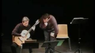 """Sylvano Bussotti """"Ultima rara"""" per chitarra e voce recitante"""