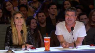 America's Got Talent 2017 The Man Of Mystery Auditions 1 Full Audition