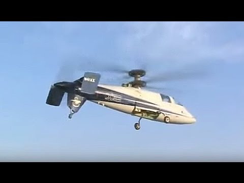 Sikorsky - S-97 Raider Light Tactical Helicopter Special Operations Combat Simulation [360p]