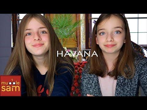 Sophia and Bella Singing Havana By Camila Cabellao 🎵 Mugglesam