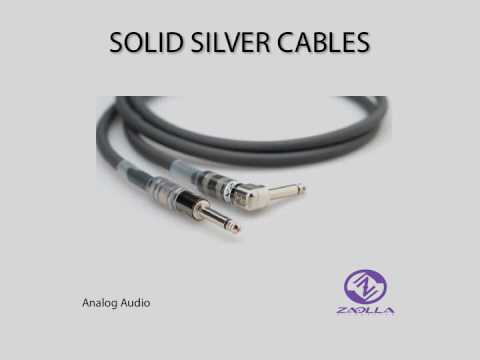 Zaolla Solid Silver Cables - YouTube