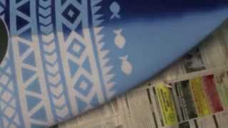 How To Paint A Surfboard! - With Ebony Santamaria