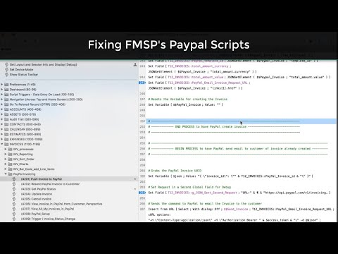 FMSP-PayPal API Fixes-Filemaker 17 News-FileMaker 17 Training-FileMaker Expert-FM Starting Point