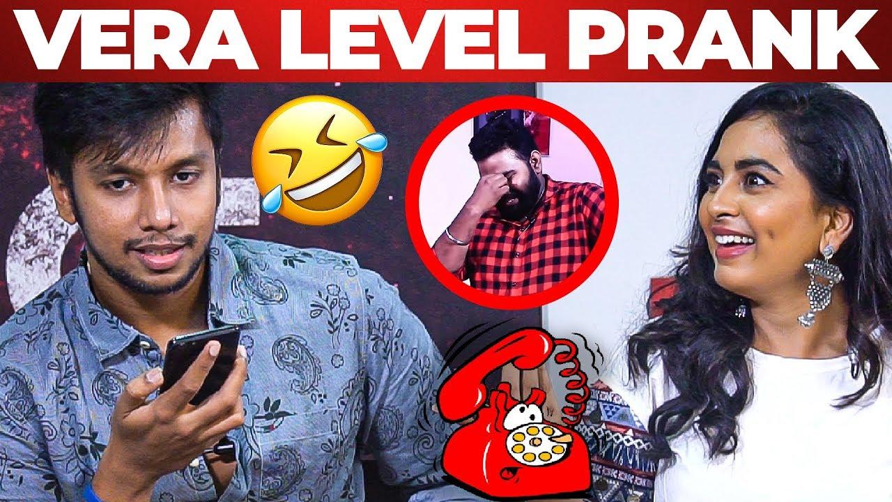 கனா காணும் காலங்கள் Irfan Funniest PHONE PRANK EVER! - Rajavukku Check