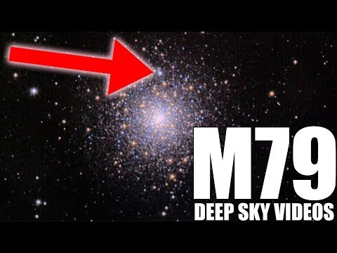 M79 and its special bright star - Deep Sky Videos