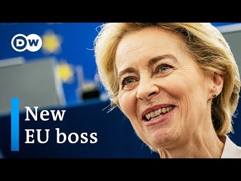 Von der Leyen elected EU Commission President by slim margin | DW News