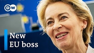 Von der Leyen elected EU Commission President by slim margin | DW News