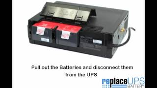 How to Replace APC BR1500G UPS Battery (Back-UPS Pro 1500)