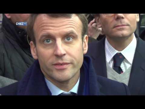 Emmanuel Macron à Hénin-Beaumont