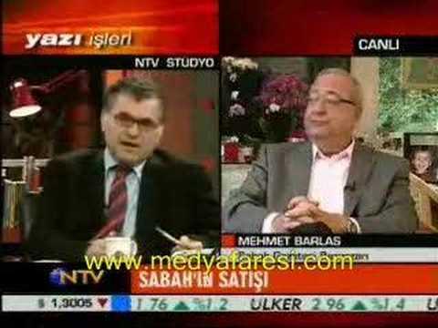 Mehmet Barlas'tan NTV'ye fırça