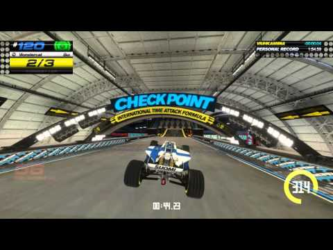 Trackmania Turbo PC gameplay Solo campaign blue series nr.120 my personal best.