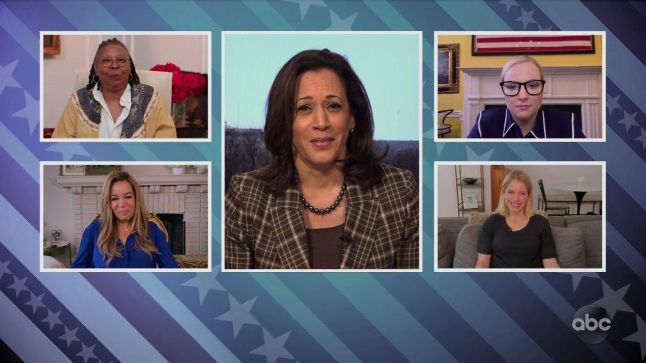 Sen. Kamala Harris on Trump's Handling of Coronavirus Pandemic | The View