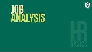 HR Basics: Job Analysis