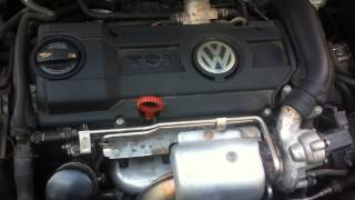 Звук мотора TSI, цепи