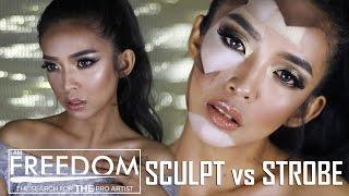 #IAMFREEDOM Challenge 1 -  Sculpt vs Strobe | XanaPea