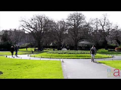 ''Details of Dublin'' St. Stephen's Green Park