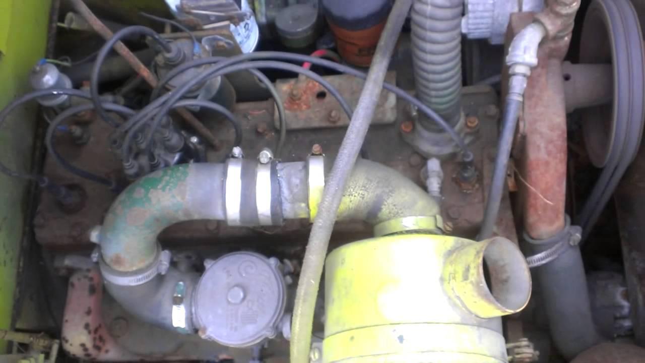 clark forklift c500 wiring diagram 2001 dodge dakota sport stereo engine great installation of continental f 245 6 cylinder 120 turned rh youtube com brake