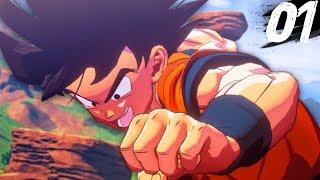 Dragon Ball Z Kakarot - THE STORY BEGINS! - Part 1
