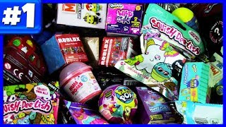 Random Blind Bag Opening #1 - Shopkins Wild Style, Roblox, Disney Crossy Road, Mashems & Cars 3