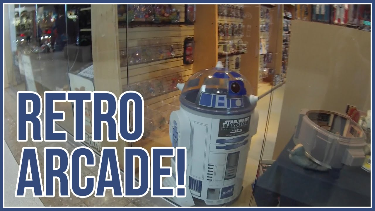 Vlog 47: A retro arcade spot, The Neutral Zone! - YouTube