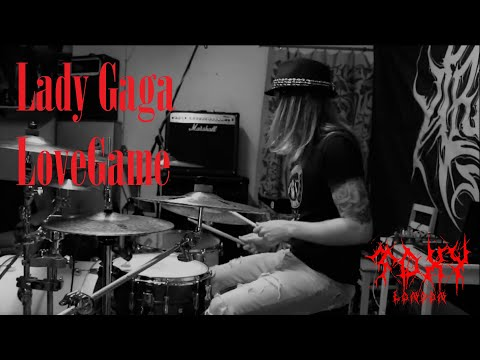 Lady Gaga - LoveGame (Drum Cover By Toxy London)