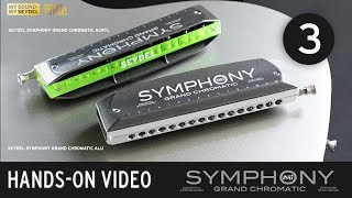 Conversion into a left-handed Chromatic - SEYDEL SYMPHONY Grand Chromatic