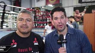 """ROBERT GARCIA """"TANK IS A BEAST, ABNER IS UP FOR IT, HE KNOWS HE CAN DO IT!"""""""