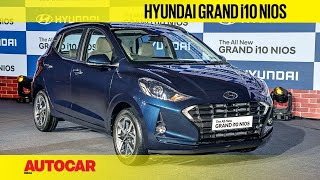 Hyundai Grand i10 Nios - price from Rs 4.99 lakh | First Look & Walkaround | Autocar India