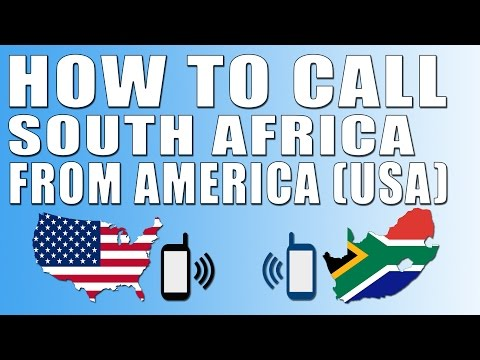 Call South Africa From America Usa